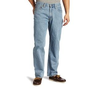 Levi's 550 Men's Jeans Relaxed Fit 34W 30L